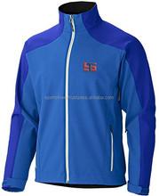 New Stylish blue Softshell Jacket for Winter Wear / mens winter jackets 2015