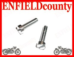 ROYAL ENFIELD BULLET DISTRIBUTOR ASSEMBLY COVER SCREW SET CHROME PLATED 142121