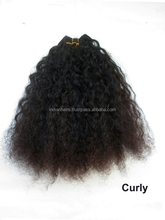 Virgin Indian Hair Straight/ Wavy/ Curly Wholesale Supplier Manufacturer Exporter