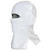 New 100% Warm knitted Black and White Balaclava Neck Warmer Ski Face Mask