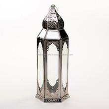 Stainless Steel Moroccan Lantern