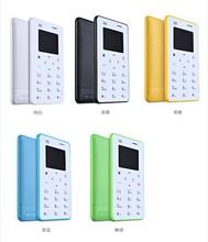 AIEK X6 M5 M3 Card Mobile Phone Ultra Thin Pocket Mini Phone languages phone arabic keybord FM Aiek M5's Follow Model
