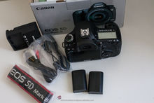 For New Canon EOS 5D Mark III 22.3MP Digital Camera NEW Factory - Warranty Original / 2 Cameras / 2 lens kit
