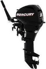 Used Mercury Mariner F 20 Ml Hp 4 Stroke Outboard Engine Motor Manual Start