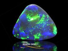 Australian Black Opal Solid Natural