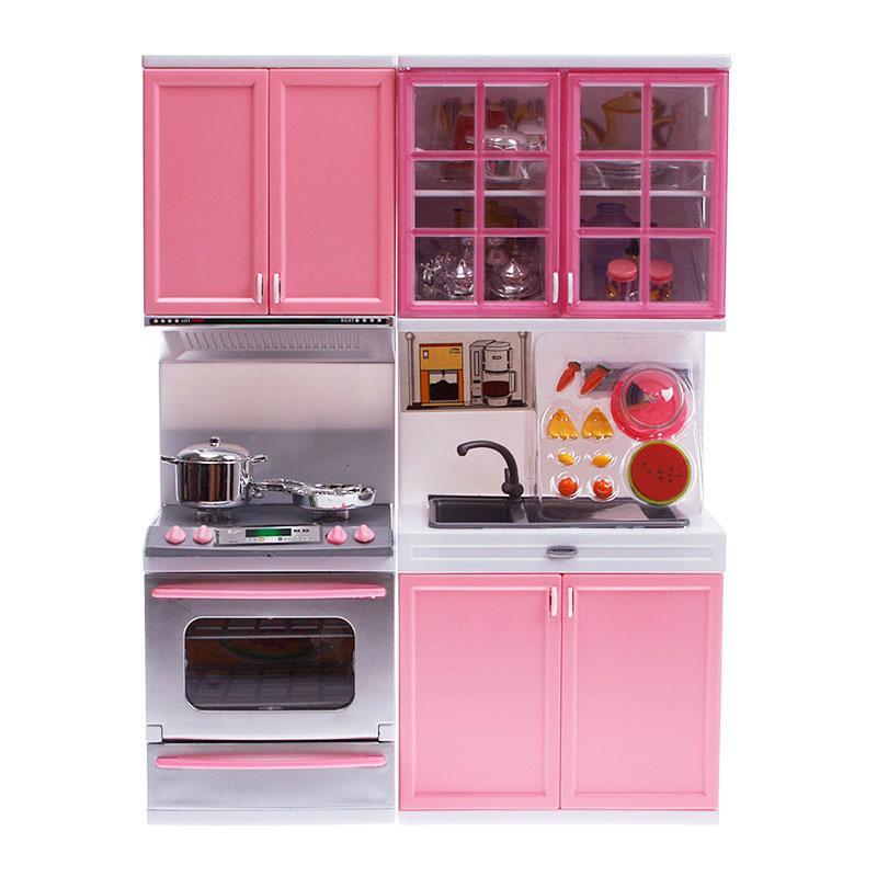 Wholesale kids children kitchen pretend play cook cooking for Kitchen cabinet sets