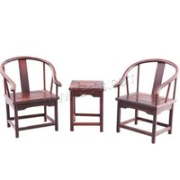 Rosewood Mini Table and Chair Decoration Carved 60x79x60mm 95x127x82mm Sold By Set