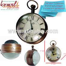 Ball Shaped - Pocket Watch Shaped - Desk Decorative Watch - Handmade Collectible Item