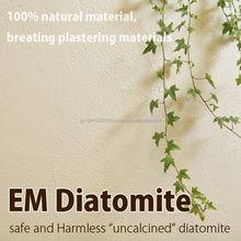 Traditional and Premium materials used interior design diatomite interior wall material