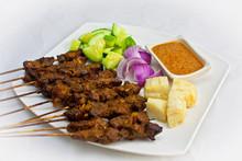Frozen Cooked Satay Beef