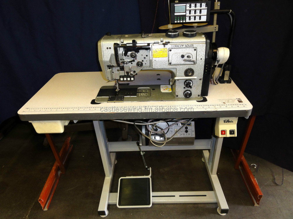 adler walking foot industrial sewing machine
