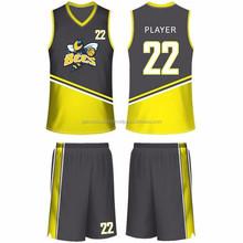 Latest Design Sublimation BasketBall Wear / Sublimation Basketball Uniform