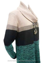 Turtleneck tunic sweater by Japanese apparel company , OEM available