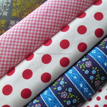 100%Cotton fabric 140*72 CM40*CM40 128gsm high quality from Vietnam