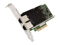 Compeve I_n_t_e_l Network X540T2 Dual Port 10GBASE-T PCI E Ethernet Adapter Card