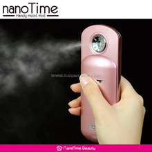 Light weight portable nanoTime facial fine mist sprayer for hand and hair care also