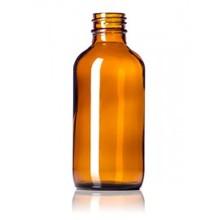60ml 120ml Amber Boston Round Bottle