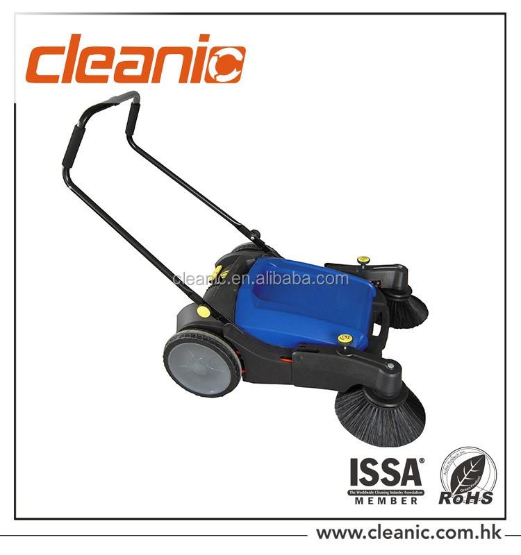 Mécanique main push étage de nettoyage balayeuse Manuel Balayeuse