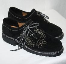 BEAUTIFUL SHOES WITH EMBROIDERY MEN BAVARIAN SHOES