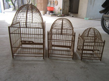 Home Pet cage, Multi Size Bamboo Bird Cages