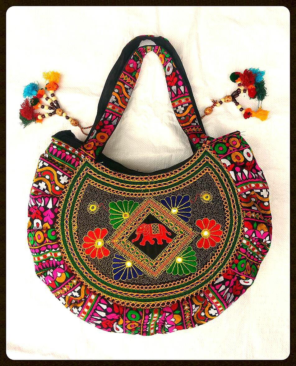 Latest Vintage Banjara Sling Bag Indian Handmade Banjara Hippi Jhola