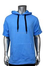 pullover side zip terry hoodie legend blue