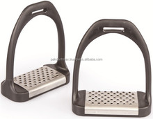 SHIRES-RIDER-STIRRUPS-IRONS-WITH-METAL-TREAD-EQUESTRIA/Horse Riding Stirrups / Horse Racing Equipment / High Quality Instruments