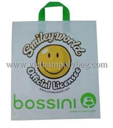 Fashion design plastic bag for suit wholesale