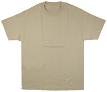 OEM custom beige t-shirt