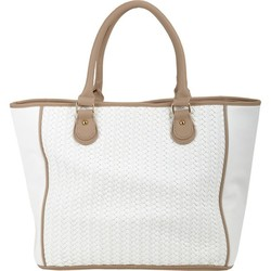 Best New Arrival Fashion PU tote bags with woven for women,handbag China manufacturer,2015 collection