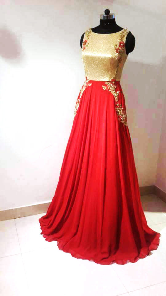 Fantastic Long Gowns Indian Component Top Wedding Gowns