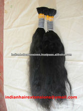 fast delivery single donor remy tangle free virgin human bulk hair