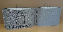 JUMBO white - innovative eco paper carrier bag