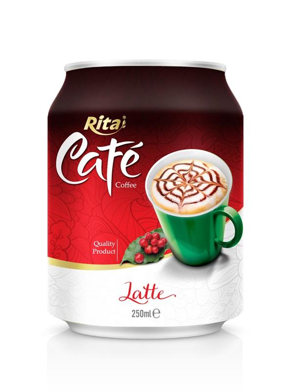 250ml short can Latte coffee.jpg