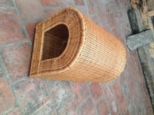 Bamboo pet cage, unique small pet house, dog home, cat home, small gift for girl