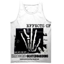 Sublime Tank Top Hardcore Skateboarding Bonecrusher X-Ray