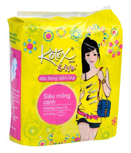 KOTEXE STYLE SUPER THIN WINGS COTTON SURFACE PACK 8 PADS