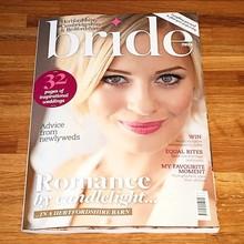 good-quality matt art paper perfect binding bride magazine