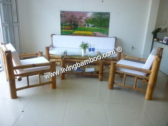 boat bamboo living room sofa set buy bamboo sofa product on. Black Bedroom Furniture Sets. Home Design Ideas