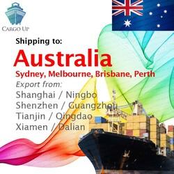 Sea Freight Shipping from Shanghai Ningbo Shenzhen Guangzhou China to Sydney Melbourne Brisbane Fremantle Adelaide Australia