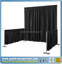 adjustable pipe and drape exhibition show photo booth