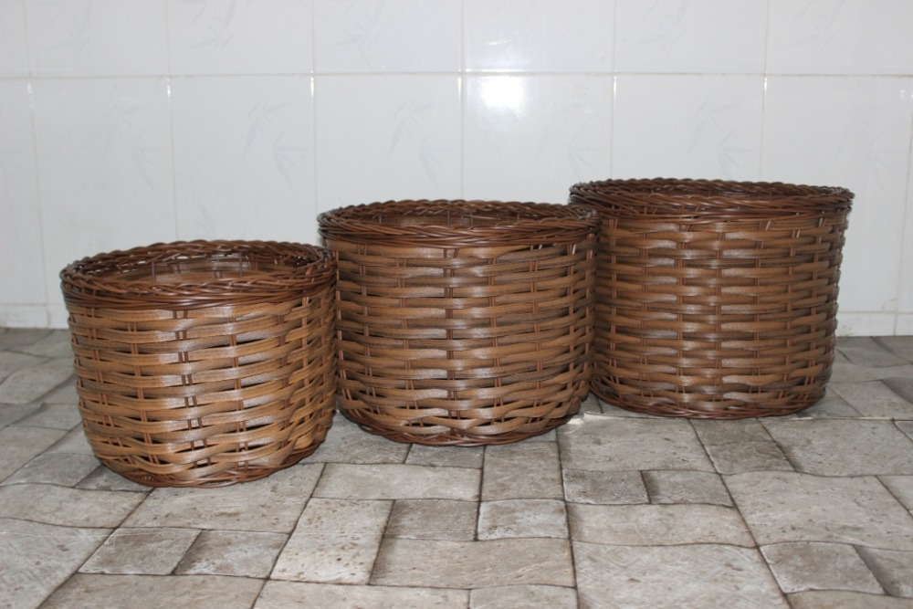 Wicker Basket Manufacturers South Africa : Ch a br poly rattan wicker basket for home furniture