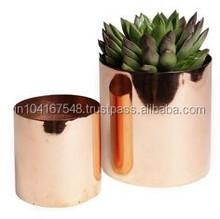 copper vase assorted sizes ,shiny copper vase