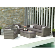 Outdoor sofa best seller and cheap 2015 PE rattan and Aluminum frame garden furniture / Rattan sofa furniture DMV-339