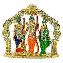 Ram Darbar Statue Religious Office Table Decor Indian Car Dashboard GiftCD1359B