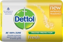 Dettol Brand Soaps Manufactured in India