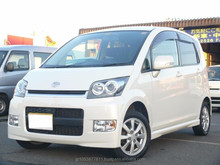 daihatsu move costomXC 2008 Good looking and Right hand drive cars for sale in japan for export used car
