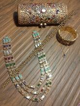 """ Diamond Kundan Jewelery "" Latest Jewellery Designs 2015 For Girls"
