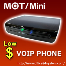 Wireless internet, Cheap and High Quality Reliability PBX VOIP Phone MOT/Mini, 6units 2calls FAX Function.