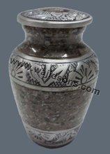 Stylish Metal Urns, Fancy Home Use Round Urn 2015 Brass Urns Manufacture